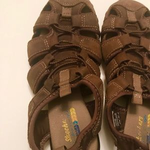 Sketchers Sandals / Walking Shoes - Brown Size 5.5